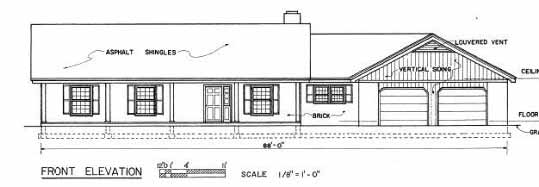 Ranch House Plans with 3 Car Garage